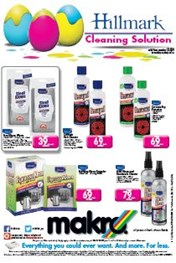 Find Specials || Makro Hillmark Cleaning Solutions Catalogue